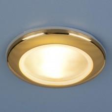 Встраиваемый светильник Elektrostandard 1080 50W G5.3 золото