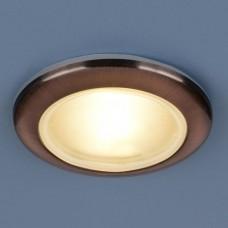 Встраиваемый светильник Elektrostandard 1080 50W G5.3 медь