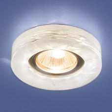 Встраиваемый светильник с LED подсветкой Elektrostandard 6062 50+3W G5.3+Led подсветка, белый