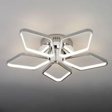 Светодиодный потолочный светильник Eurosvet 90081/5 хром 65W Kalifea