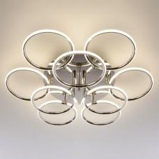 Светодиодный потолочный светильник Eurosvet 90069/9 хром 94W Impulse