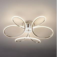 Светодиодный потолочный светильник Eurosvet 90083/3 хром 63W Lozanna