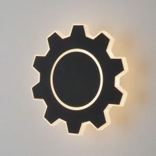 Настенный светодиодный светильник Elektrostandard Gear M LED черный (MRL LED 1095) Gear