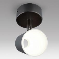 Светодиодный настенный светильник с поворотным плафоном Elektrostandard DLR025 5W 4200K черный матовый 5W Snappy