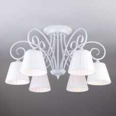 Классическая люстра с абажурами Bogates 303/6 Severina белый