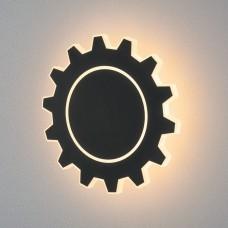 Настенный светодиодный светильник Elektrostandard Gear L LED черный (MRL LED 1100) Gear