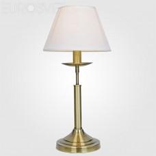 Настольная лампа Eurosvet 01010/1 античная бронза Hotel
