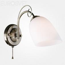 Бра Eurosvet 30107/1 античная бронза Stefanie