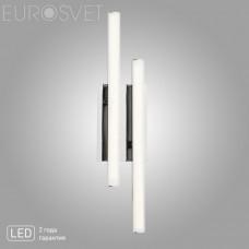 Светодиодное бра Eurosvet 90020/2 хром Hi-tech