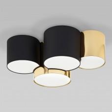 Потолочный светильник 3446 Mona Black/Gold