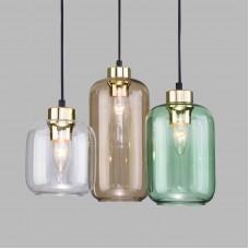 Подвесной светильник со стеклянным плафоном 3325 Marco Green