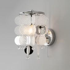Настенный светильник с декором из фактурного стекла 334/1 (319/1)