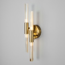 Настенный светильник со стеклянными плафонами 557/4