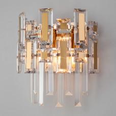 Настенный светильник с хрусталём 330/2 Strotskis