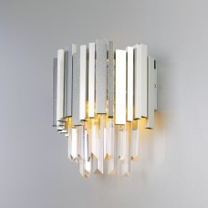 Настенный светильник с хрусталём 340/1 Strotskis (308/1)