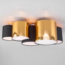 Потолочный светильник 3447 Mona Black/Gold