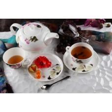 Чайный сервиз Royal Aurel 140 Дикая роза