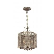 Подвесная люстра Favourite 1624-3P Bazar коричневый