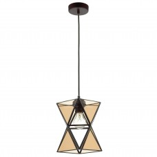 Подвесной светильник Favourite 1920-1P Polihedron черный