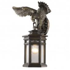 Уличный настенный светильник Favourite 1458-1W Guards бронза