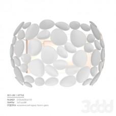 Настенный светильник Favourite 2011-2W Gittus белый матовый 2*E14*40W