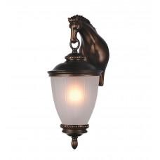 Уличный настенный светильник Favourite 1335-1W Guards коричневый