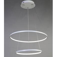 Подвесная светодиодная люстра Favourite 1765-10P Giro White белый 80 Вт
