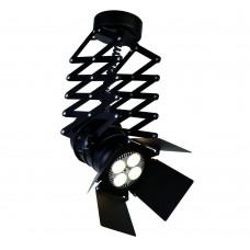 Спот ЛофтFavourite 2070-1U Limelight черный LED*35W, 4000K