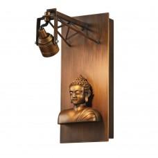 Настенный светодиодный светильник Favourite 2077-1W Exposition коричневый 1*LED*3,6W