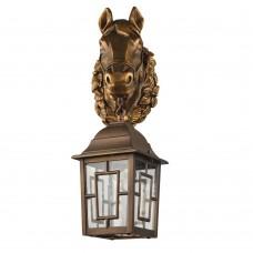 Уличный настенный светильник Favourite 2079-1W Hunt коричневый 1*E27*60W, IP44