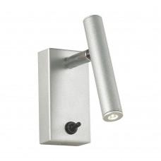 Спот Favourite 2123-1W Cornetta серебро 1*LED*3W, 3000K