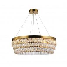 Подвесная люстра с хрусталем Favourite 2206-16P Magnitudo золото 16*G9*40W