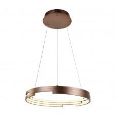 Подвесная светодиодная люстра Favourite 2222-6P Torqueo коричневый 1*LED*47W, 4000K