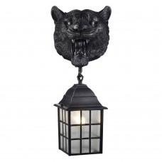 Уличный настенный светильник Favourite 2253-1W Hunt черный 1*E27*60W, IP44