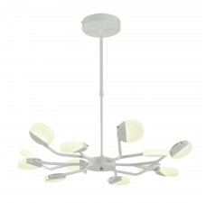 Подвесная светодиодная люстра Favourite 2264-12P Mense белый матовый 12*LED*4W, 4000К