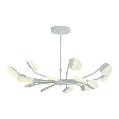 Подвесная светодиодная люстра Favourite 2264-16P Mense белый матовый 16*LED*4W, 4000К