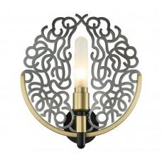 Настенный светильник Favourite 2302-1W Fabia черный хром 1*G9LED*3W, included