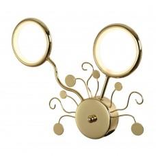 Бра светодиодное Favourite 2321-2W Dominium золото 2*LED*7W, 4000K