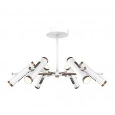 Потолочная светодиодная люстра Favourite 2325-12U Duplex белый матовый 12*LED*3W, 4000K