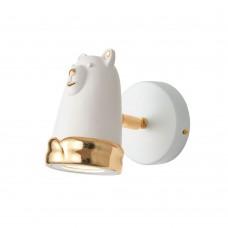Спот Favourite 2451-1W Taddy Bears белый 1*MR16LED*5W, 4000K