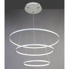 Подвесная светодиодная люстра Favourite 1765-18P Giro White белый 146 Вт