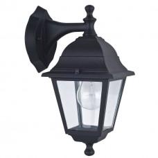 Уличный настенный светильник Favourite 1813-1W Leon черный