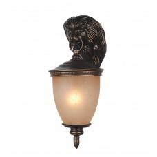 Уличный настенный светильник Favourite 1336-1W Guards коричневый