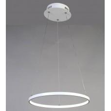 Подвесная светодиодная люстра Favourite 1765-4P Giro White белый 32 Вт
