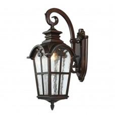 Уличный настенный светильник Favourite 2036-1W Bristol коричневый