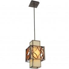 Подвесной светильник Favourite 1403-1P Heraklion коричневый