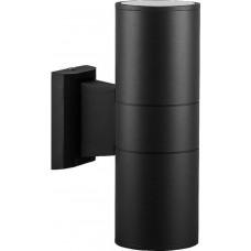 """Уличный настенный светильник Feron DH0702 230V 2*E27 260*155*90мм черный """"Техно"""" (арт. 06294)"""