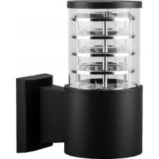 """Уличный настенный светильник """"Техно"""" Feron DH0801 230V E27 220*175*108мм черный (арт. 06300)"""