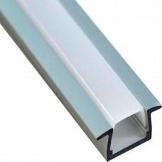 """Профиль для светодиодной ленты Feron CAB251 """"встраиваемый"""" серебро 10265"""