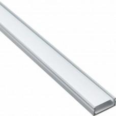 """Профиль для светодиодной ленты Feron CAB263 """"накладной"""" широкий серебро 10277"""